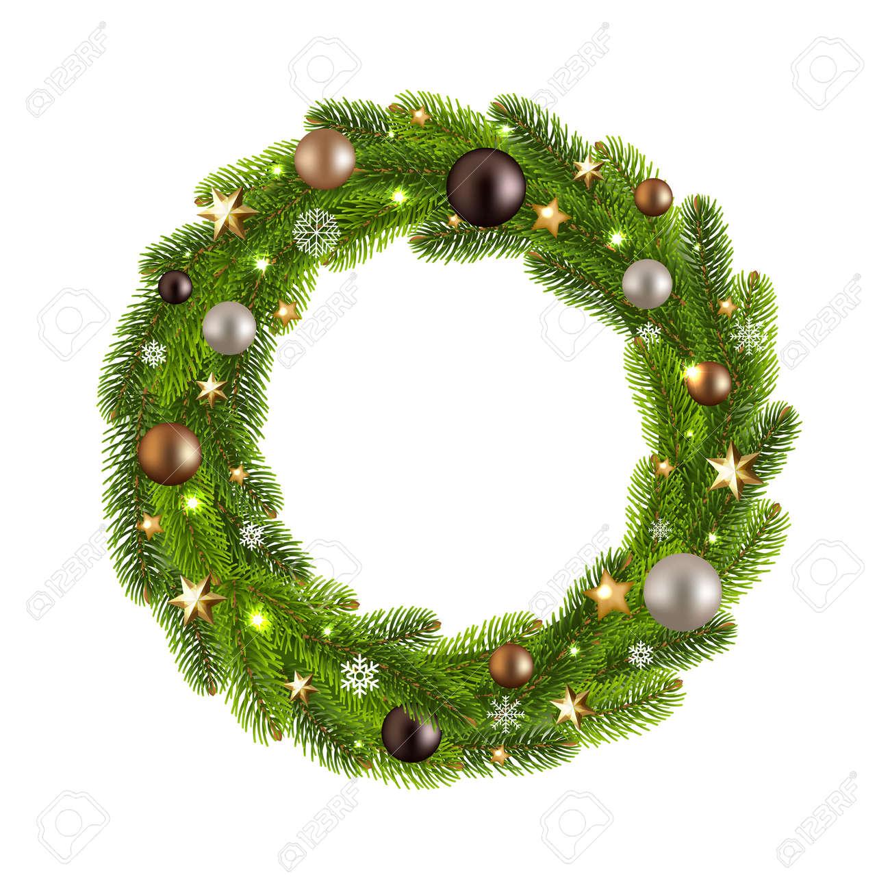 Christmas Reef.Christmas Wreath Icon