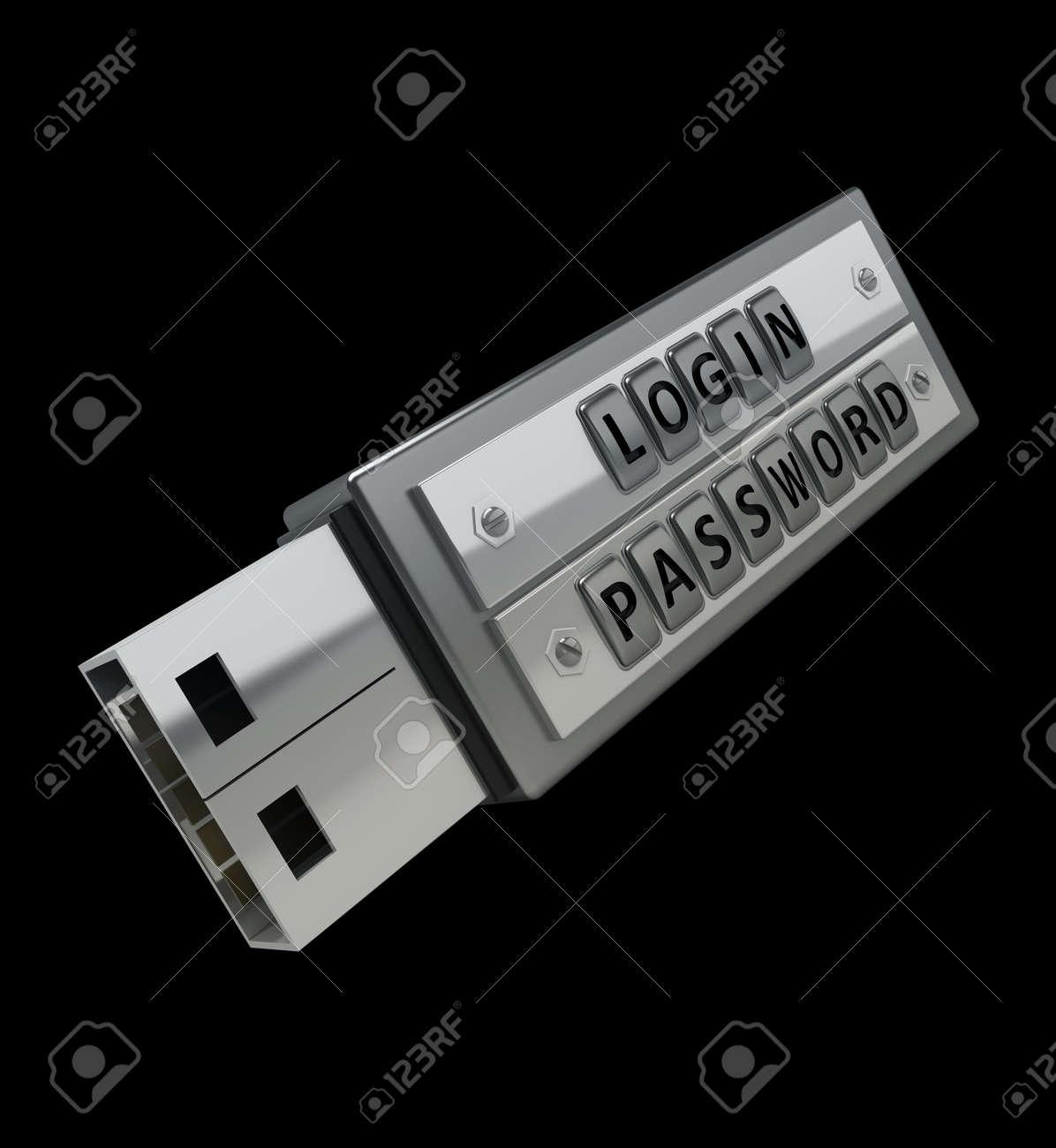 usb password