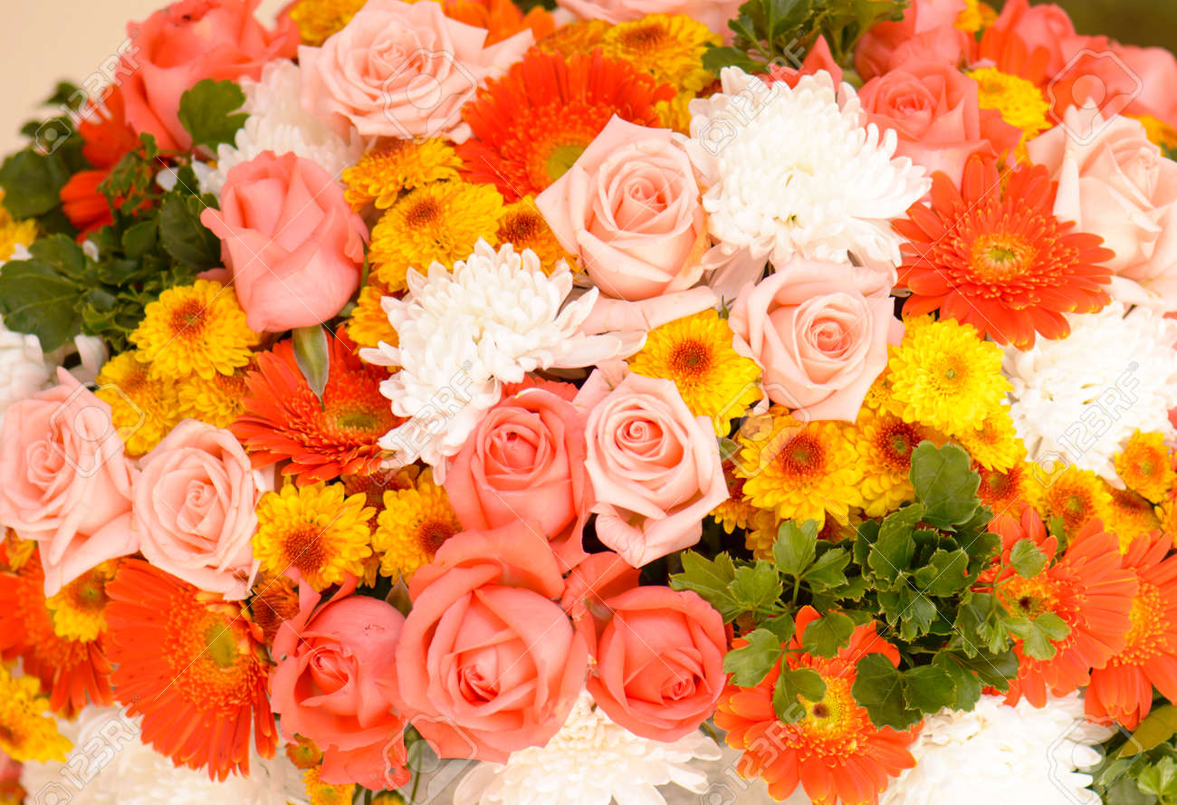Flower bouquets bunch of flowers stock photo picture and royalty flower bouquets bunch of flowers stock photo 34802103 izmirmasajfo