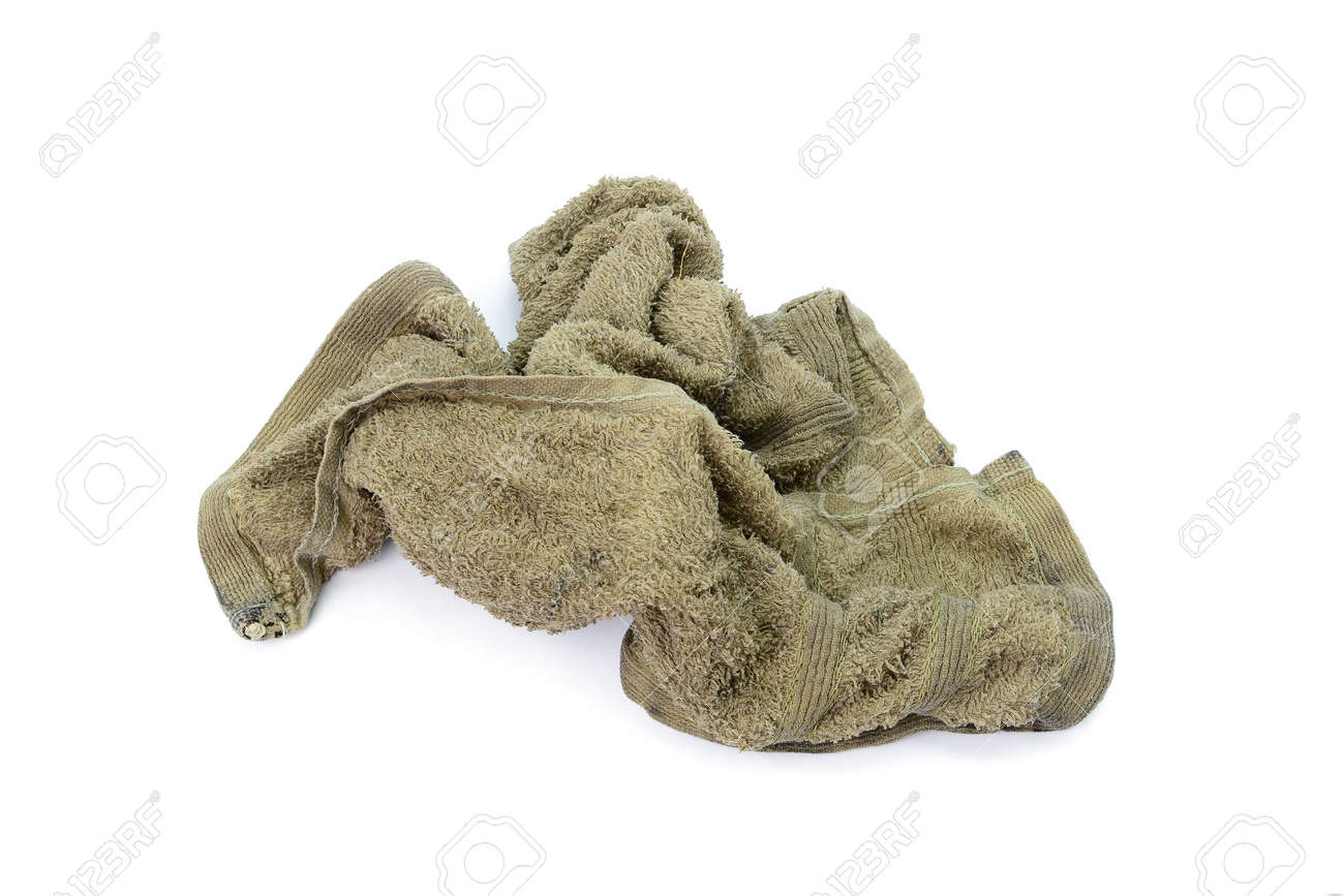 798425e46e7 Dirty wet tatters rag cloth isolated on white background stock photo jpg  1300x866 Cloth rag