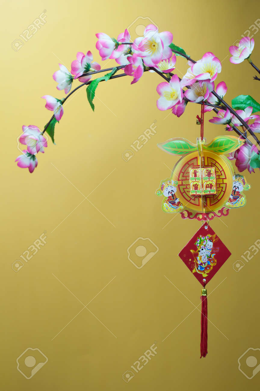 Chinese New Year Decorations. Chinese Favourite Flowers. Chinese ...