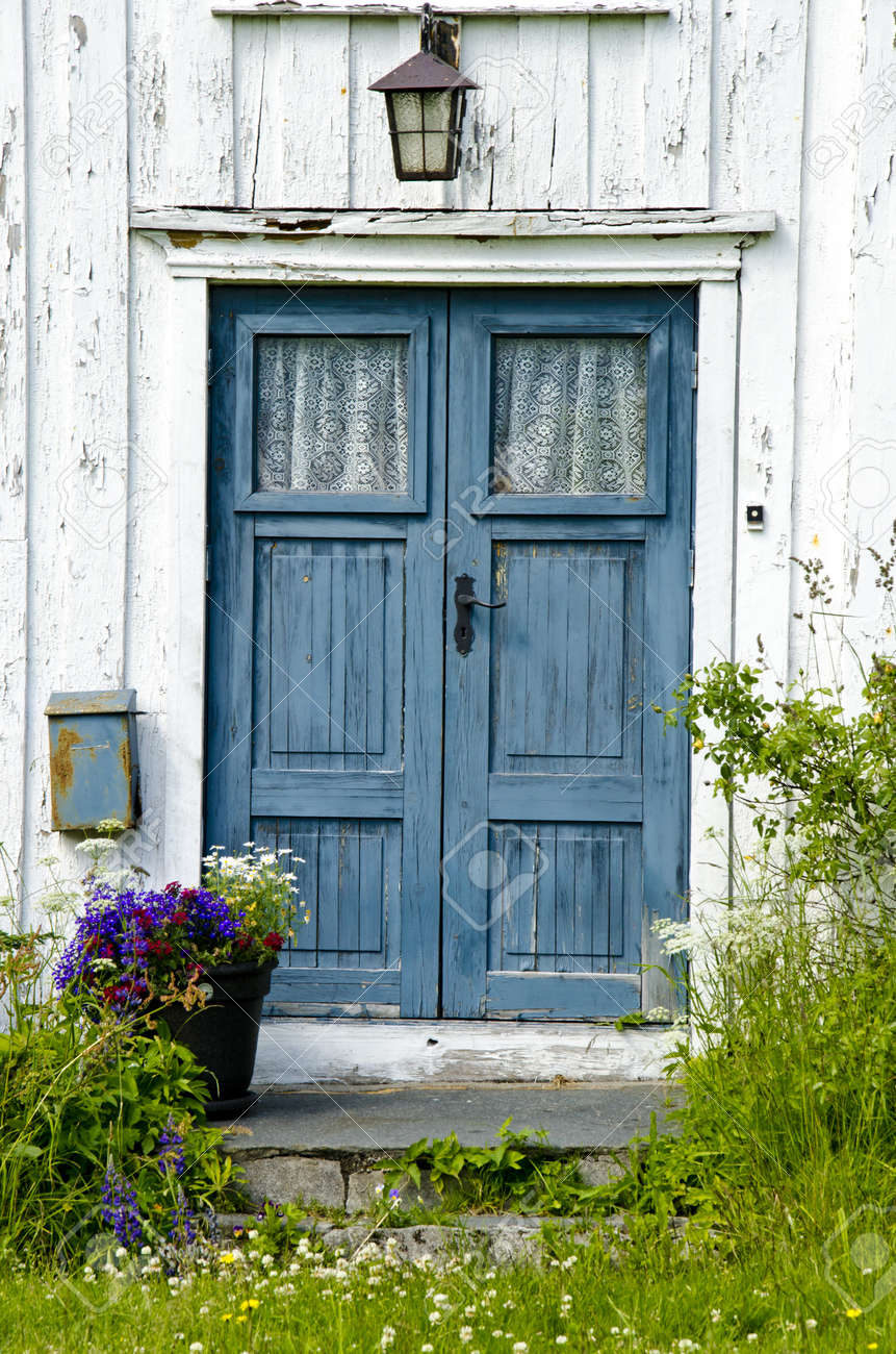 residential old wooden front door entrance dreams stock