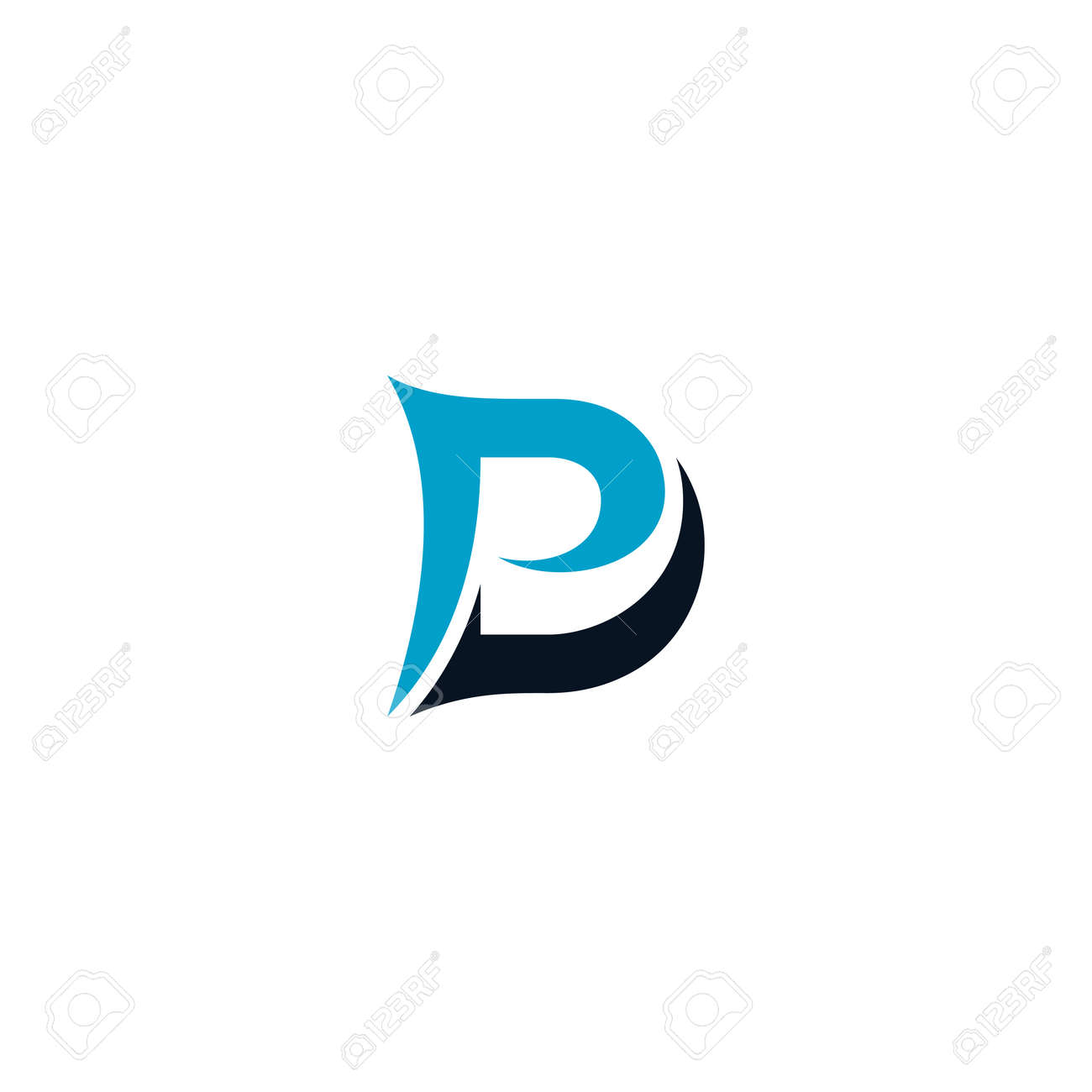 Initial Letter Dp Logo Design Vector Unique Modern Elegant Royalty Free Cliparts Vectors And Stock Illustration Image 136733615