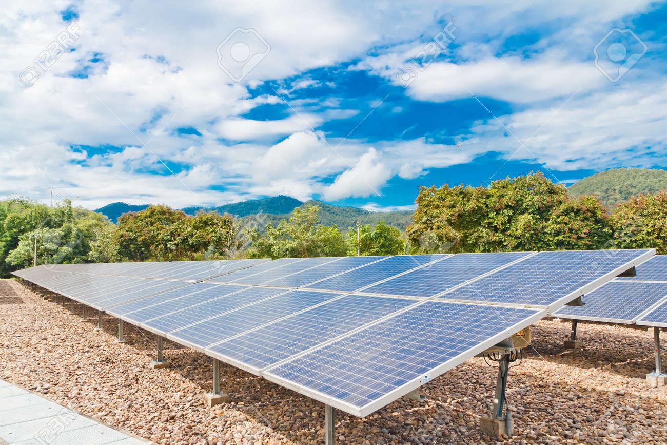 Solar power plant  pha boag Stock Photo - 18500853
