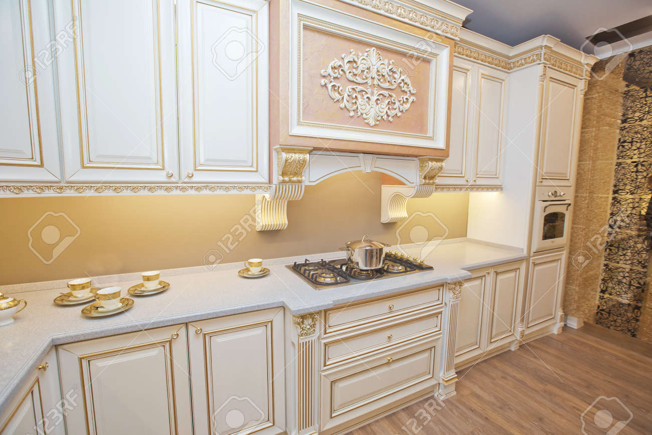 italian kitchen furniture . white furniture of the classic italian..