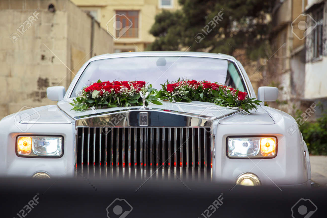 Baku Azerbaijan 12 04 2017 White Luxury Cars Parked In Luxury Stock Photo Picture And Royalty Free Image Image 144642576