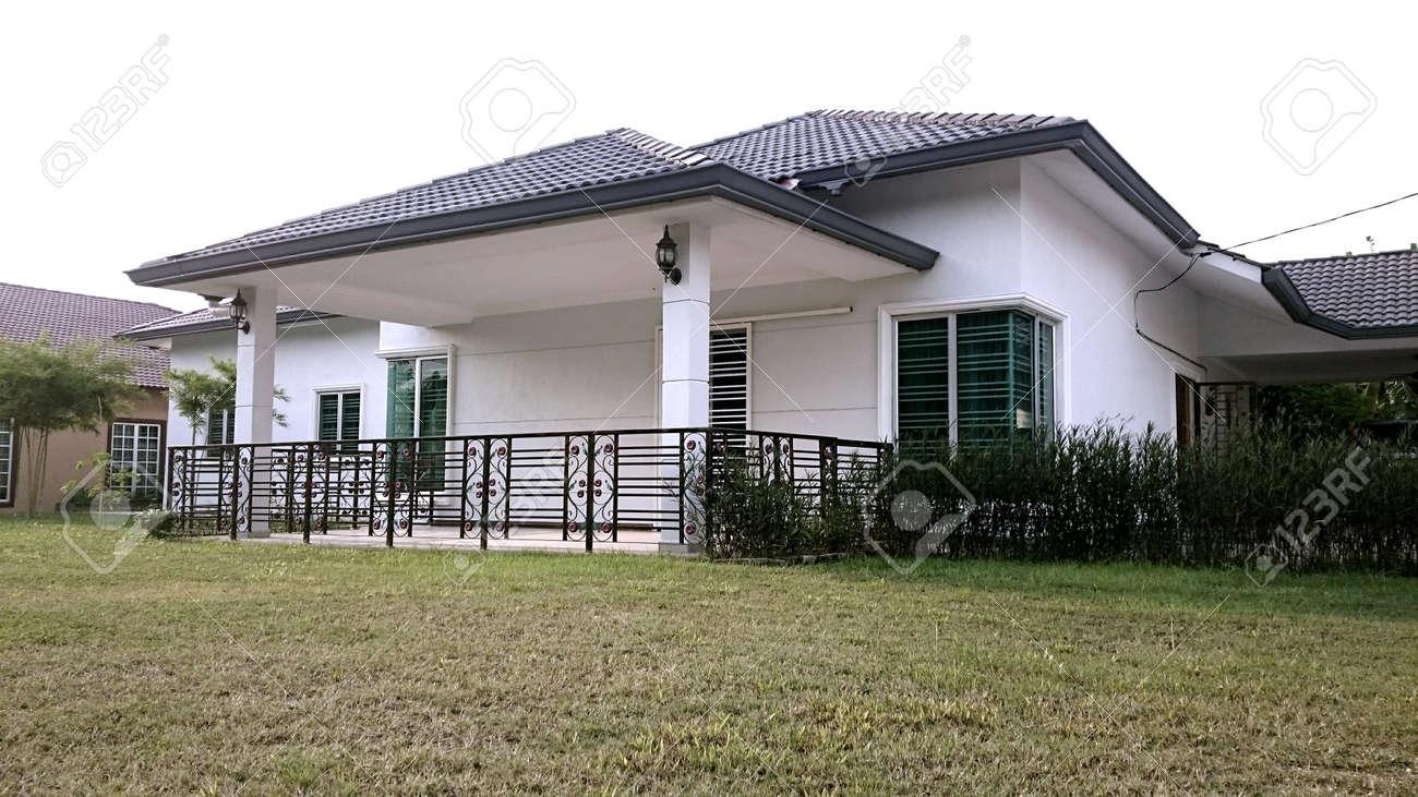 Modern house in malaysia stock photo 38315435