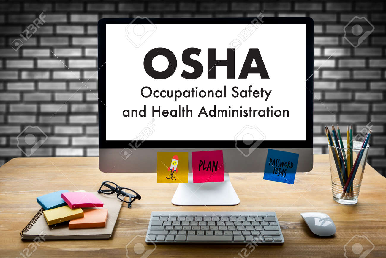 Occupational Safety and Health Administration OSHA Business team work - 80567667