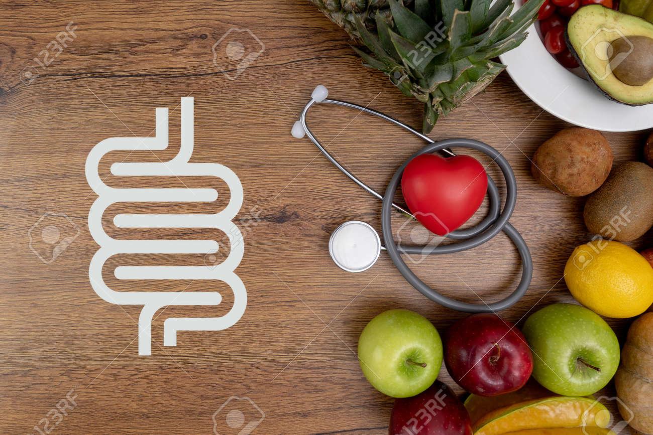 good intestine health intestine Food for bowel Health - 116682841