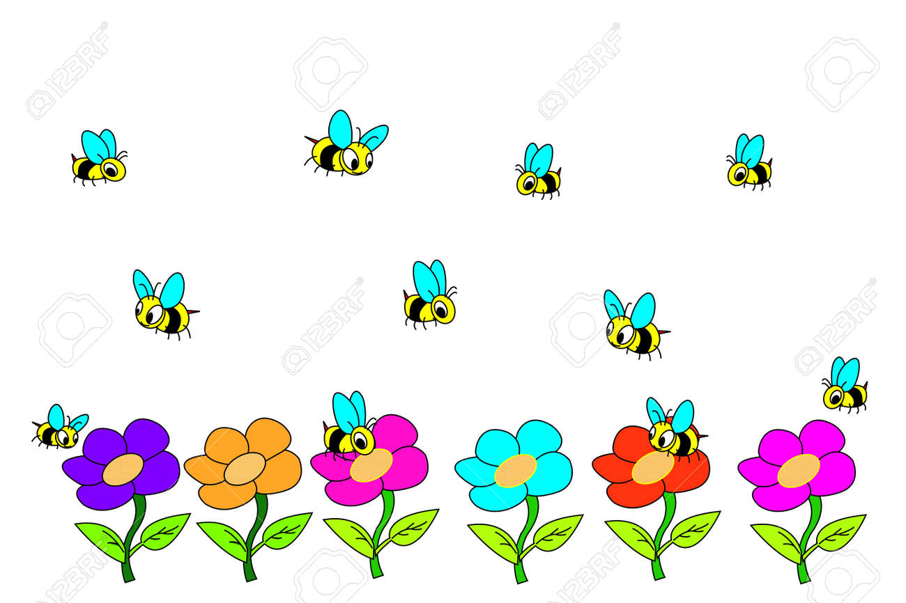 Bee Stock Vector - 17853010