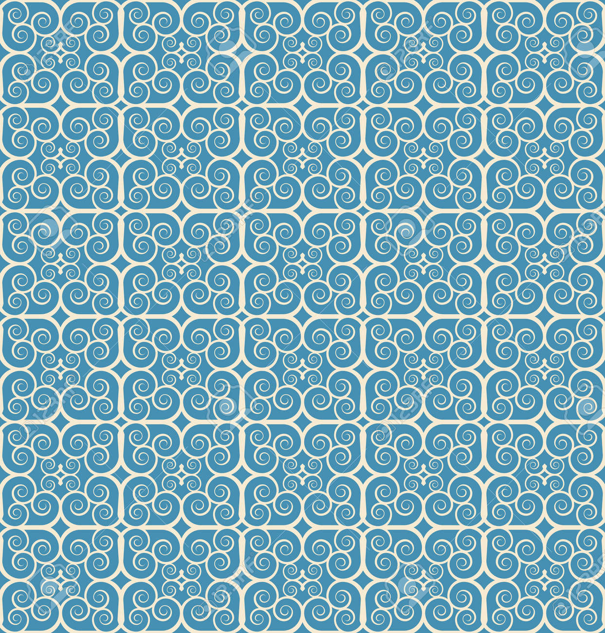 vintage seamless monochrome geometrical pattern background Stock Vector - 12956528