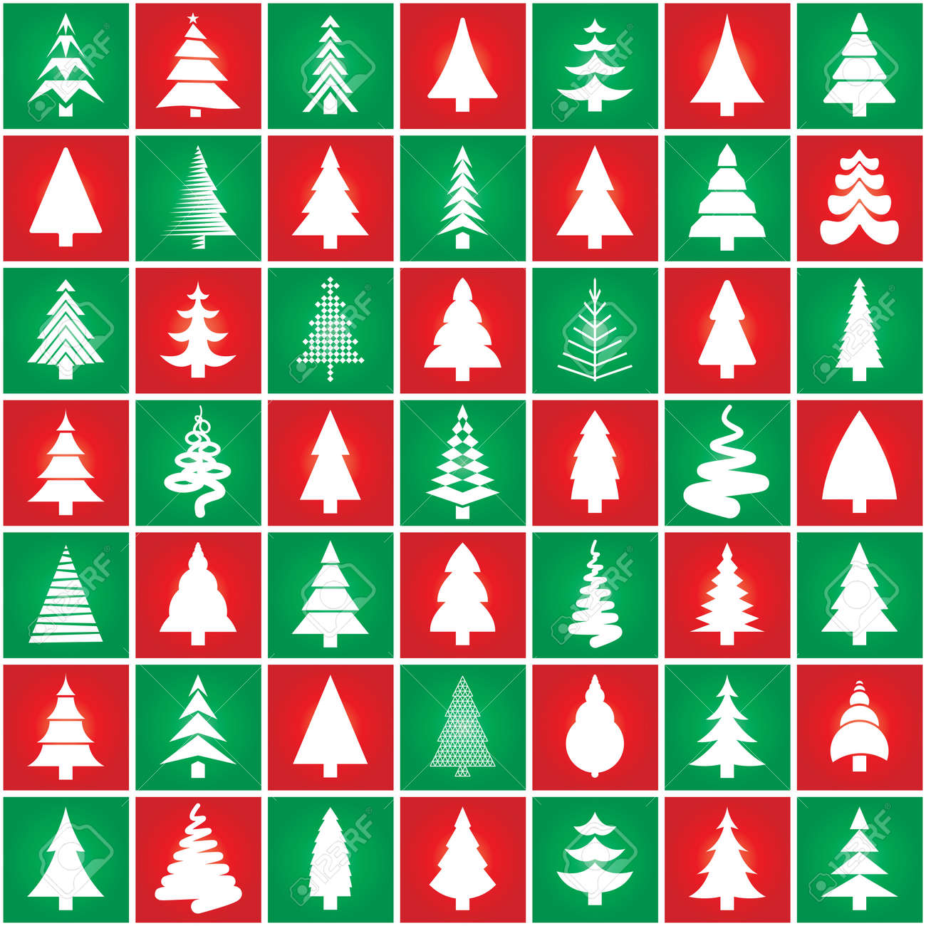 3,722 Christmas Original Modern Stock Vector Illustration And ...