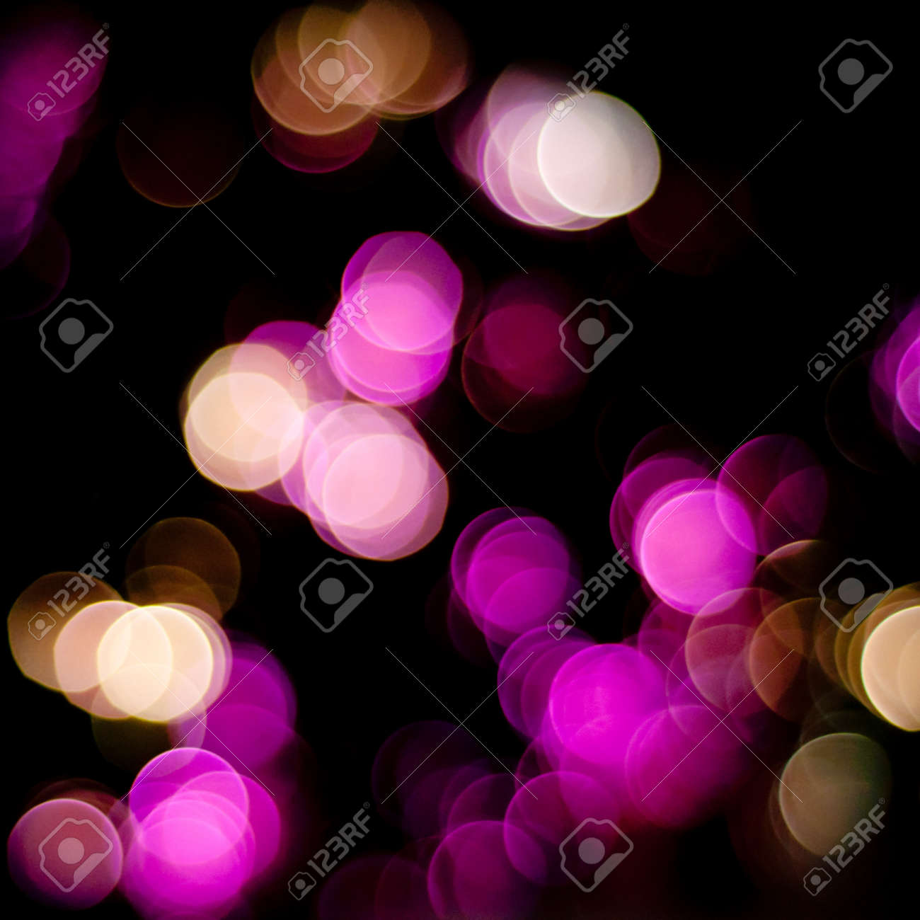 Christmas blurred lights background. Defocused lights background. Bokeh sparkling lights. Abstract colorful background. Stock Photo - 17757880