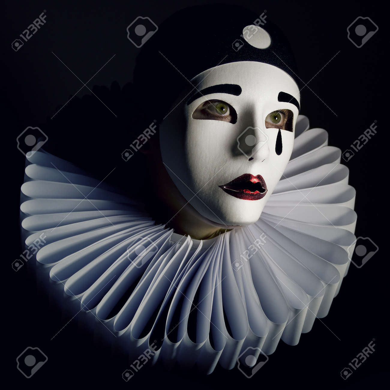 Pierrot Stock Photo, Picture A...