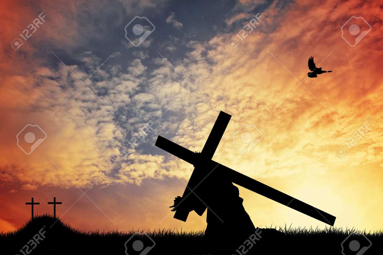 Christ Carrying the Cross Stock Photo - 17282884