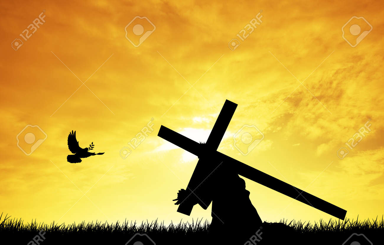 Christ Carrying the Cross Stock Photo - 18004142