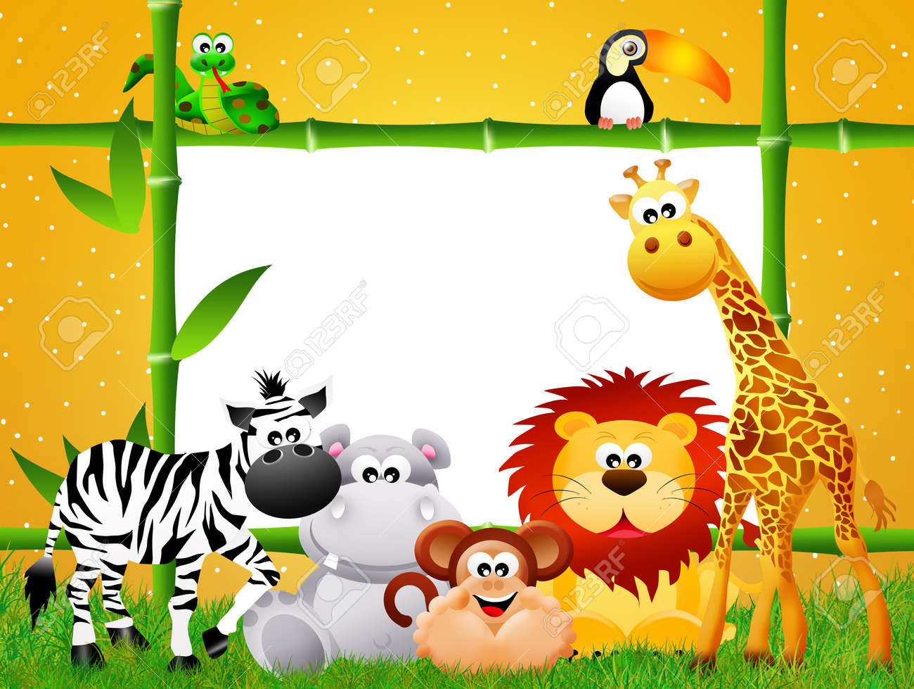 zoo animals cartoon stock photo picture and royalty free image rh 123rf com zoo animals cartoon pictures zoo animals cartoon clip art