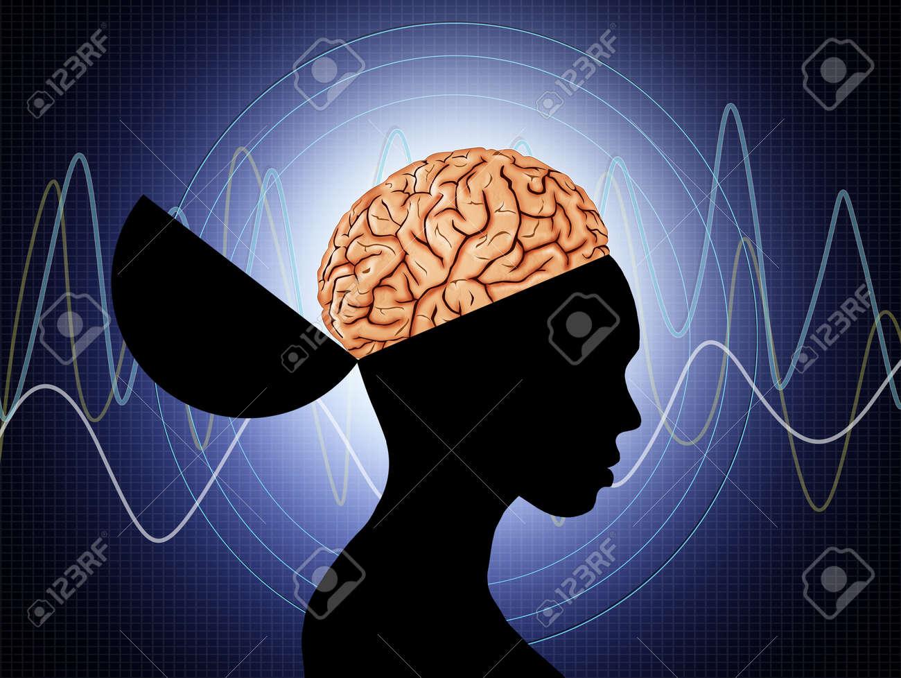 Wellen Gehirn Lizenzfreie Fotos, Bilder Und Stock Fotografie. Image ...