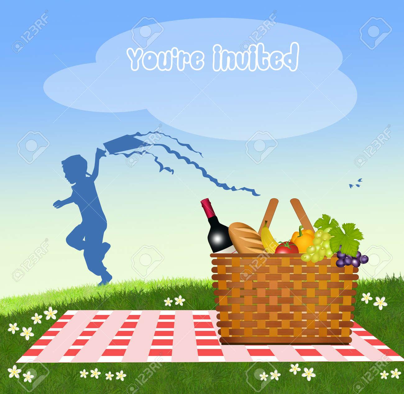Invitación De Picnic