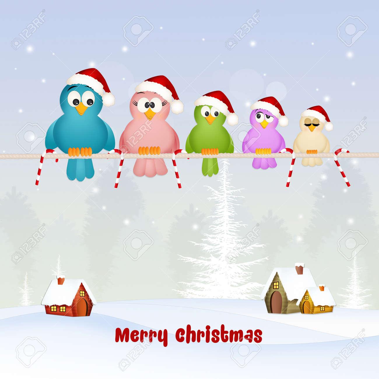 Begrüßung Zu Weihnachten Lizenzfreie Fotos, Bilder Und Stock ...