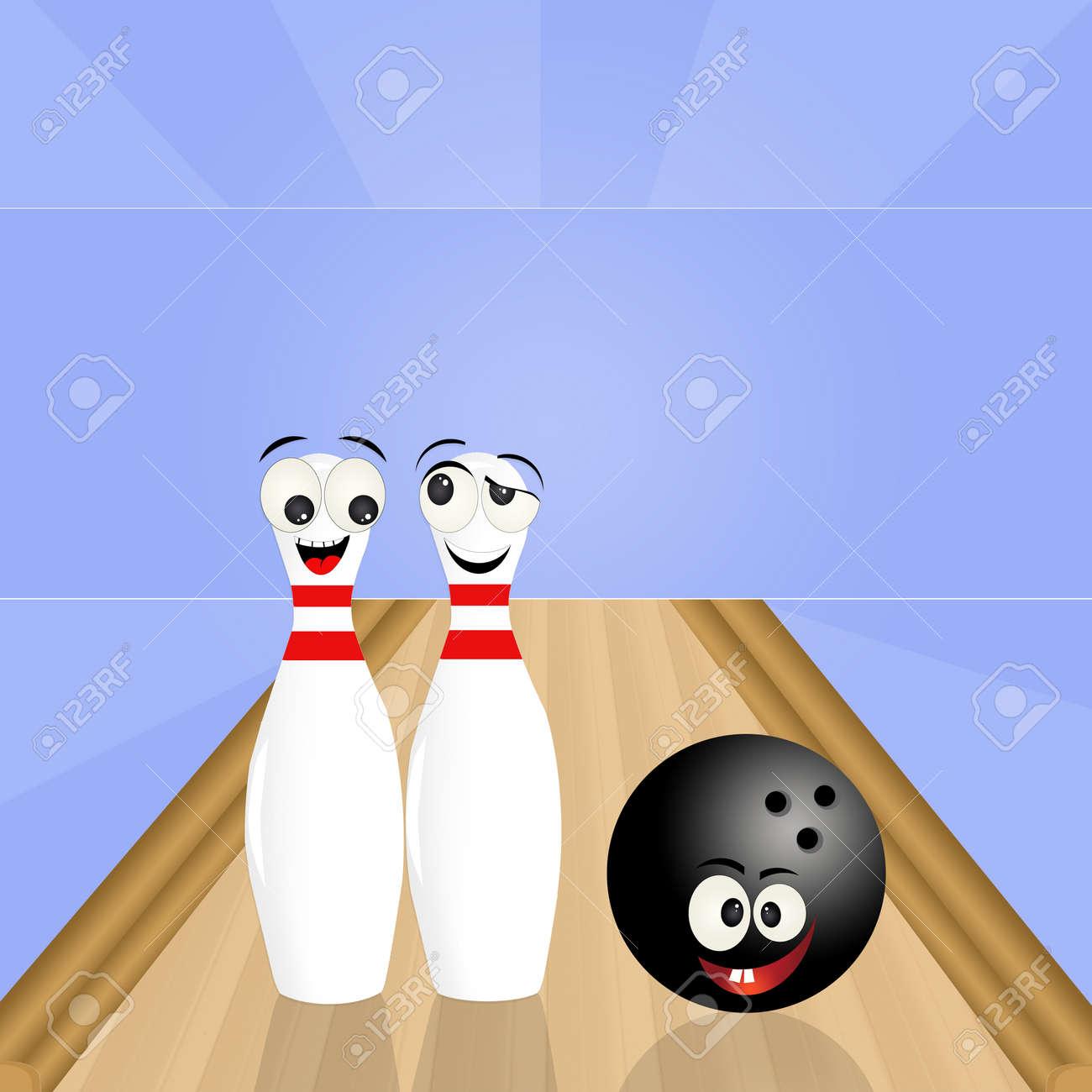 cute bowling pins