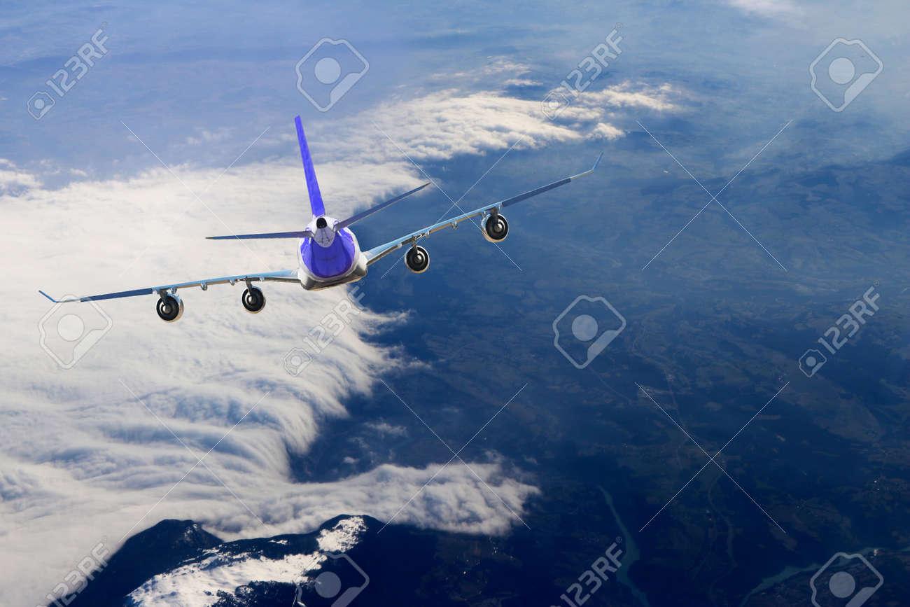 Plane flight, Sky - 157469758