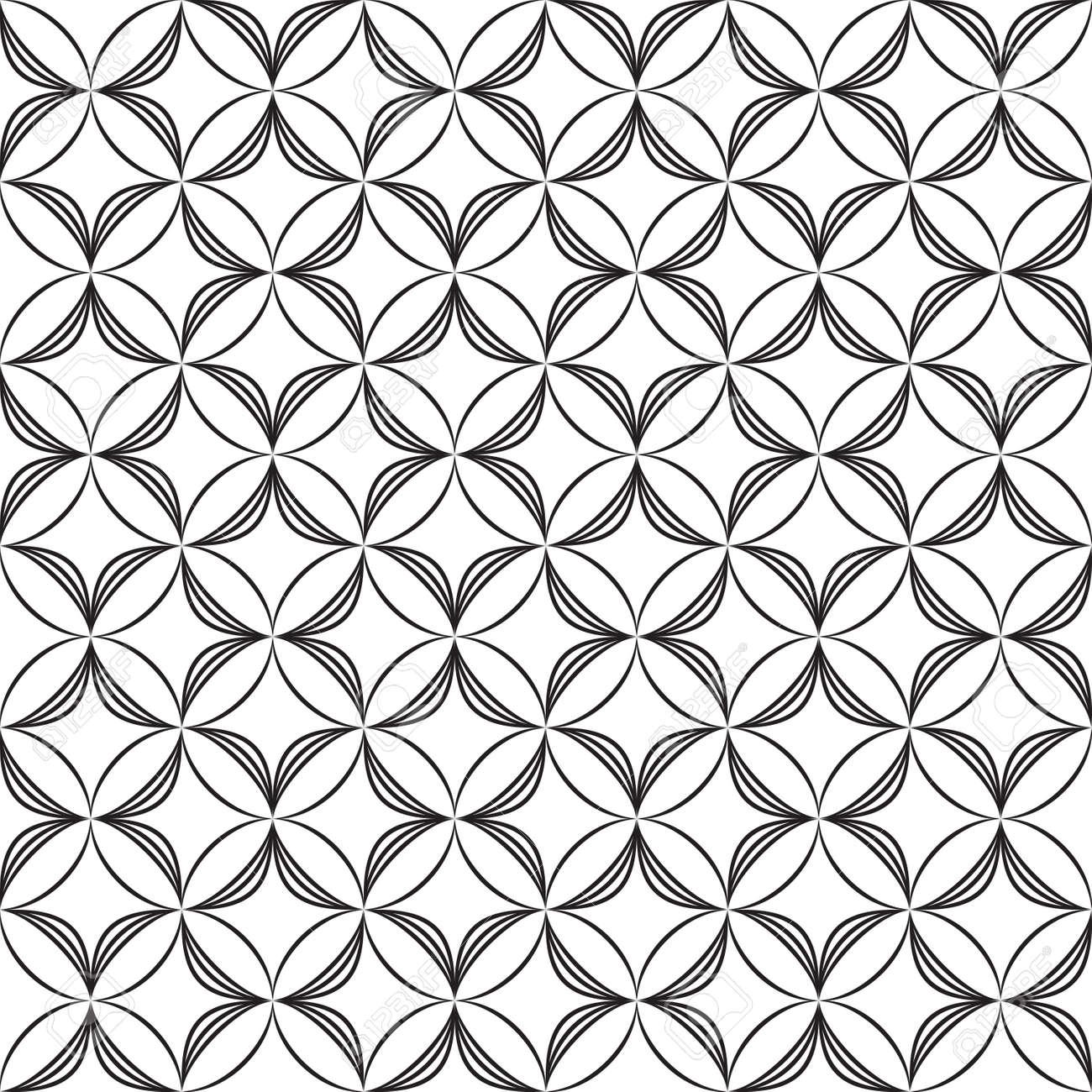 Arabesque seamless fence demicircles Stock Vector - 15901969