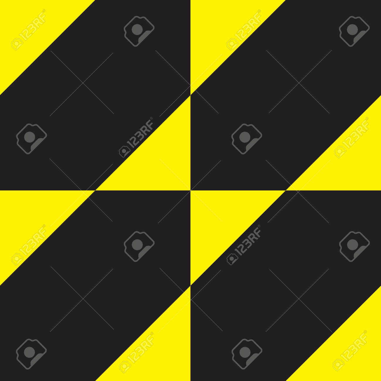 Yellow on black attention sign Stock Vector - 15994468