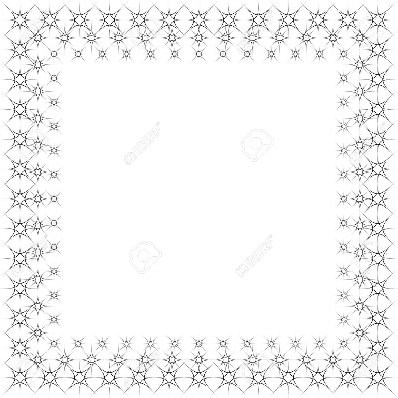 frame arabesque star based background Stock Vector - 16969428