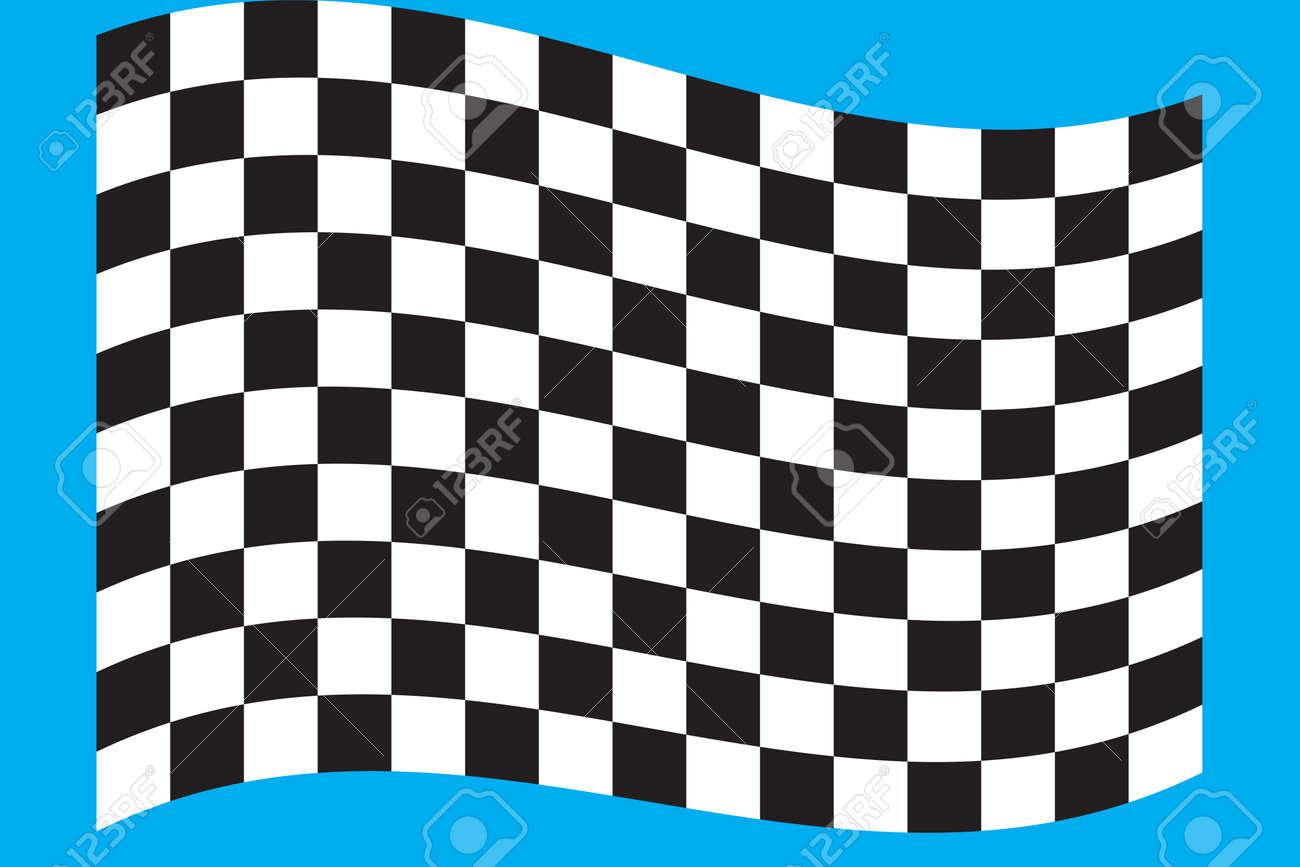 Finish flag Stock Vector - 17716981