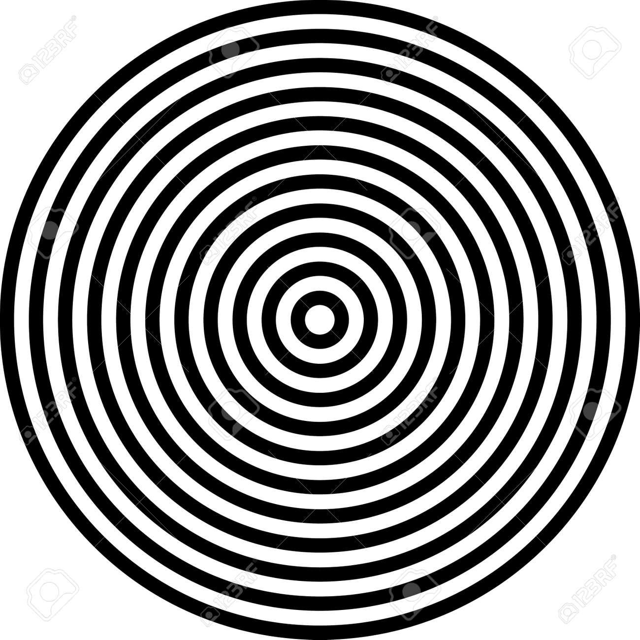 Clipart 3 concentric circles - ClipartFest