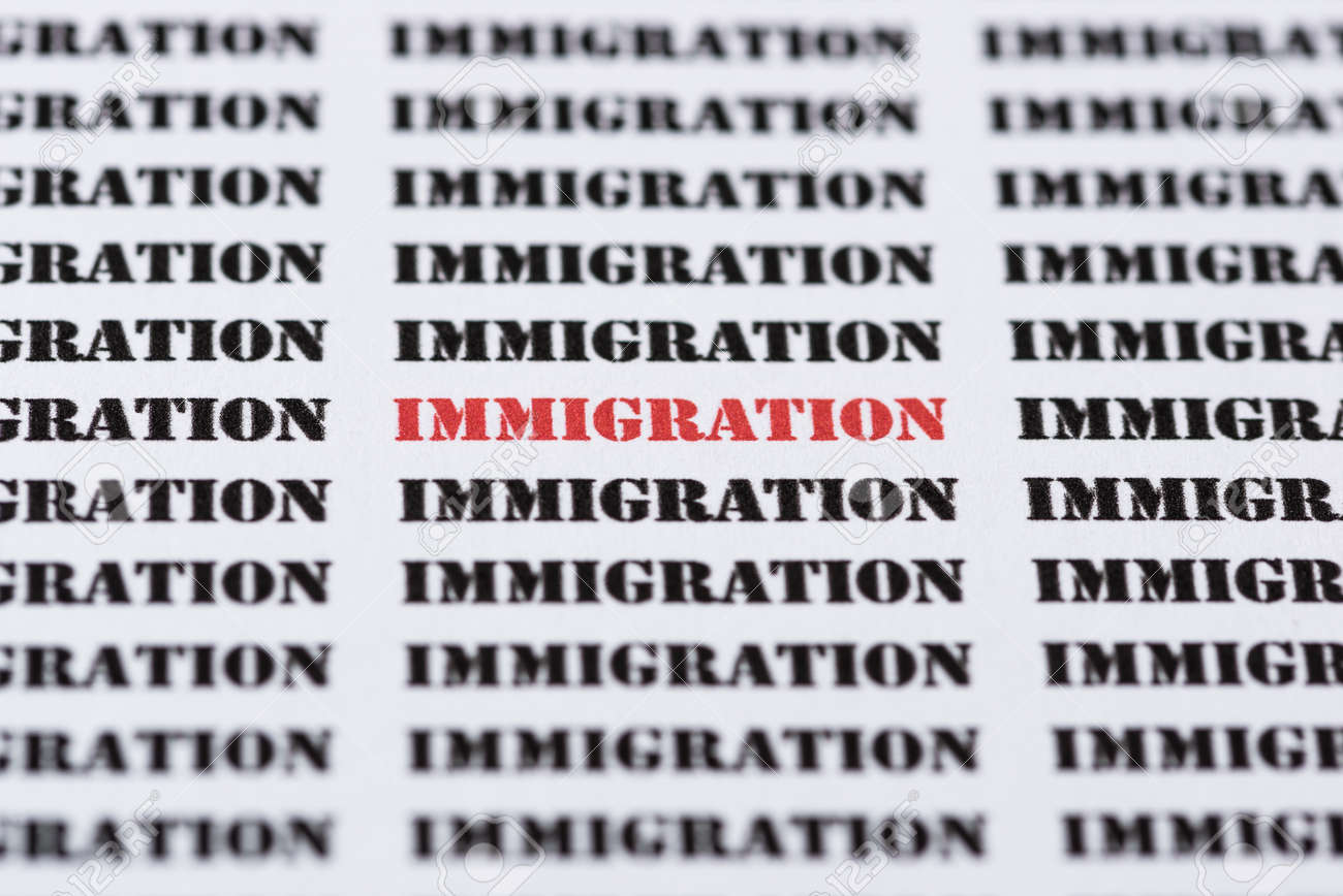 What kind of text relates to immigration?