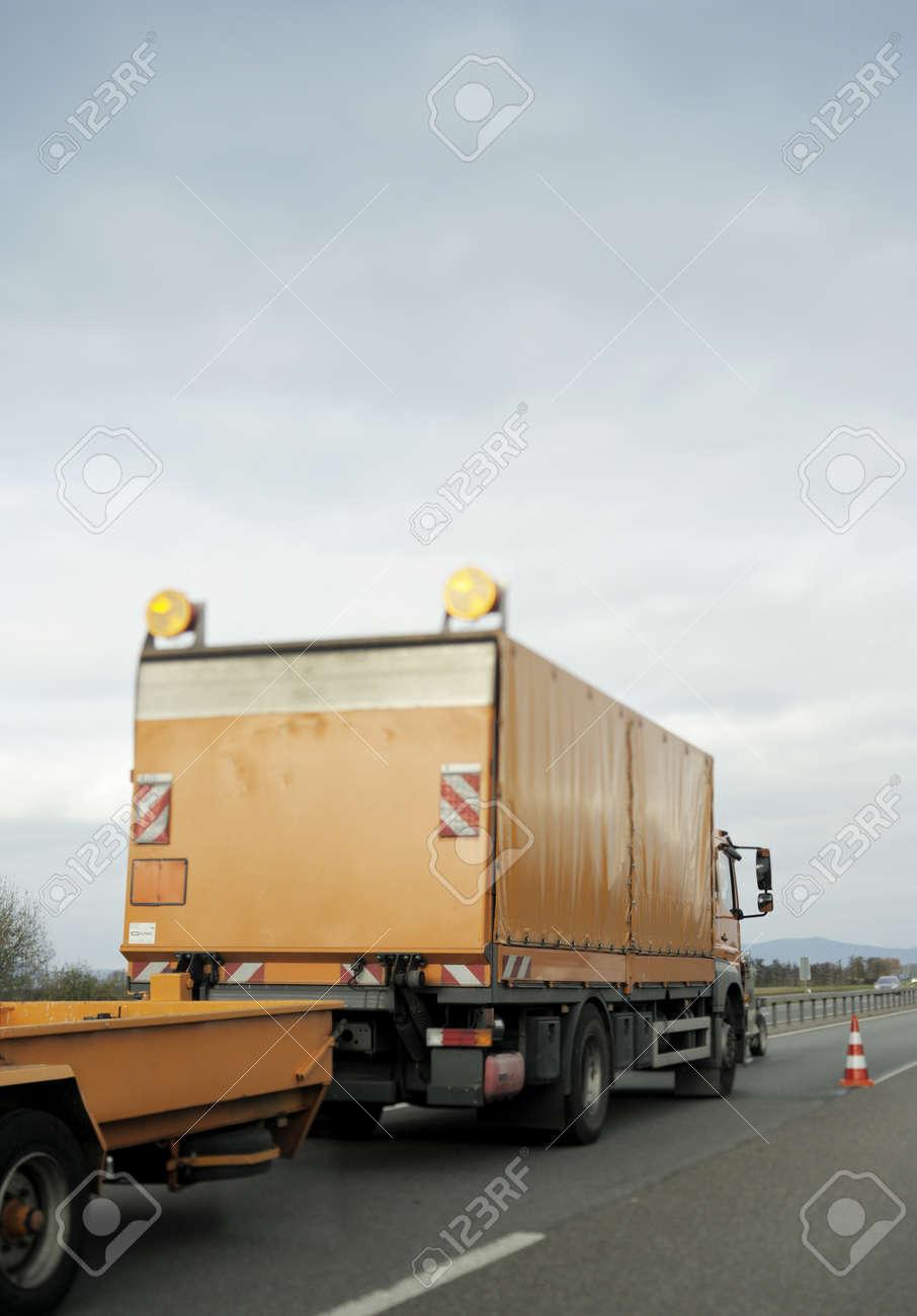 Emergency vehicle on a public highway Stock Photo - 17723646