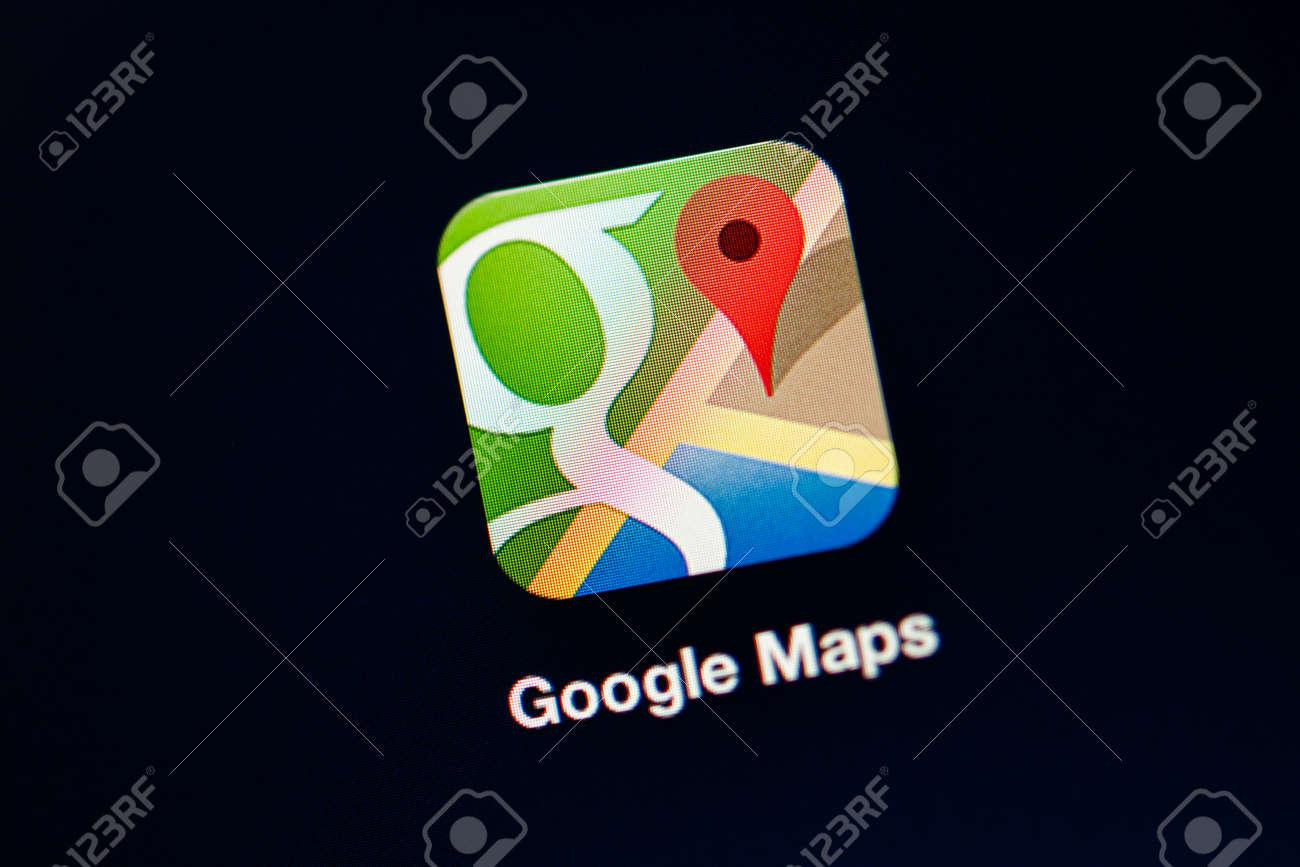 NEW YORK - NOVEMBER 13 Google updated Google Maps on November