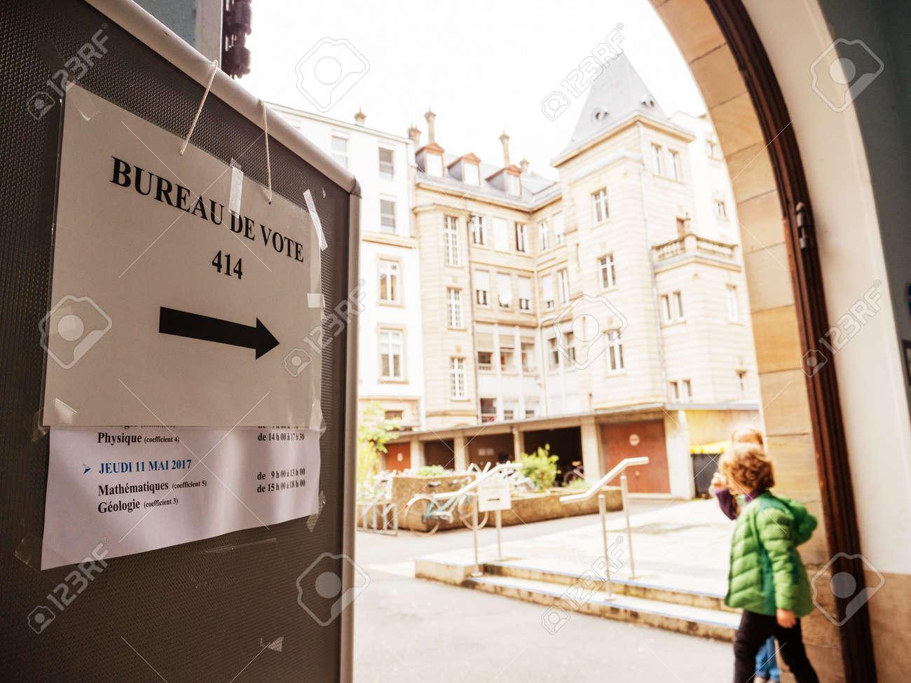 Chalon sur saône pour les élections les bureaux de vote seront