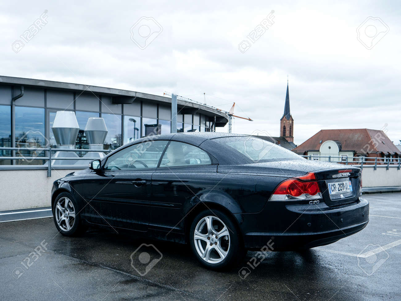 Frankfurt Germany May 3 2017 New Convertible Volvo C70