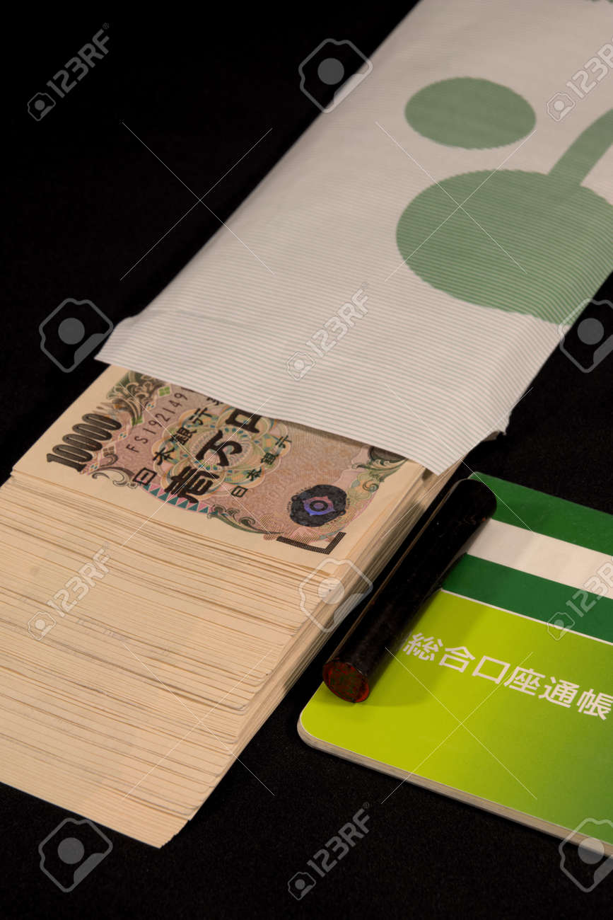 Savings passbooks and cash - 104996436