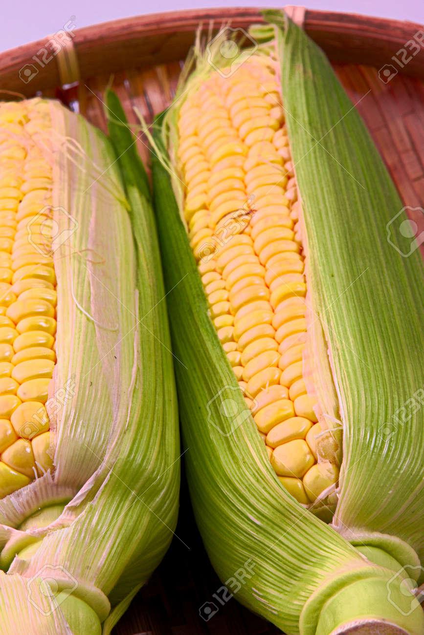 Closeup photo of Corn from Hokkaido - 109977874