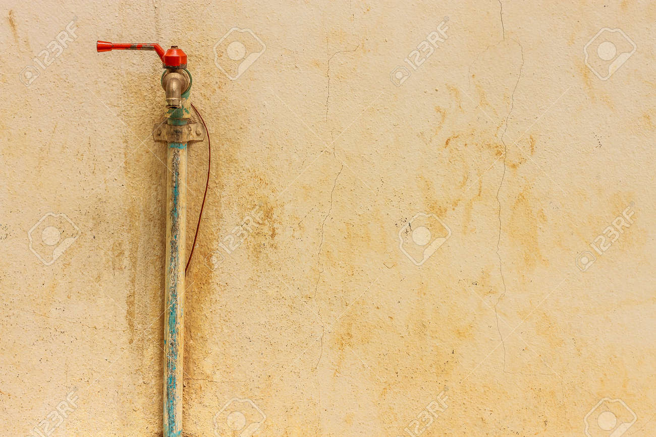 Old Faucet Rusty Water Tap Vintage Stock Photo, Picture And Royalty ...
