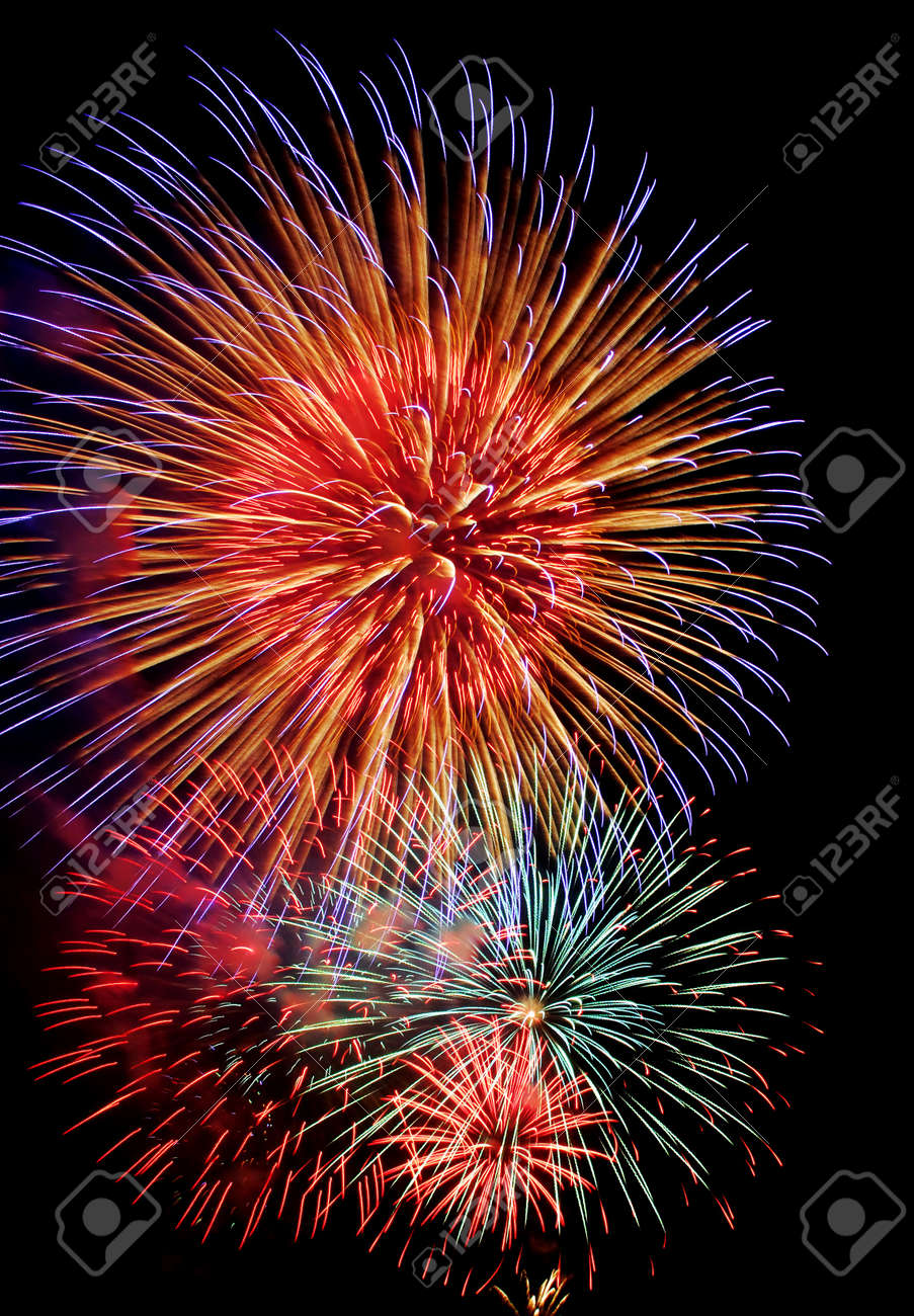 Fireworks Stock Photo - 17965811