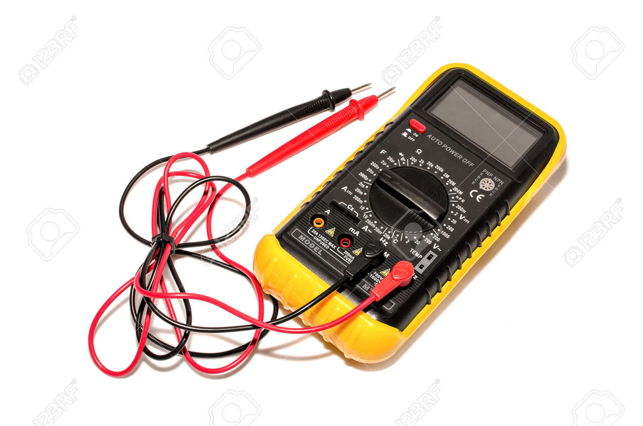 electronic galvanometer isolate on white background stock photoelectronic galvanometer isolate on white background stock photo 31595151