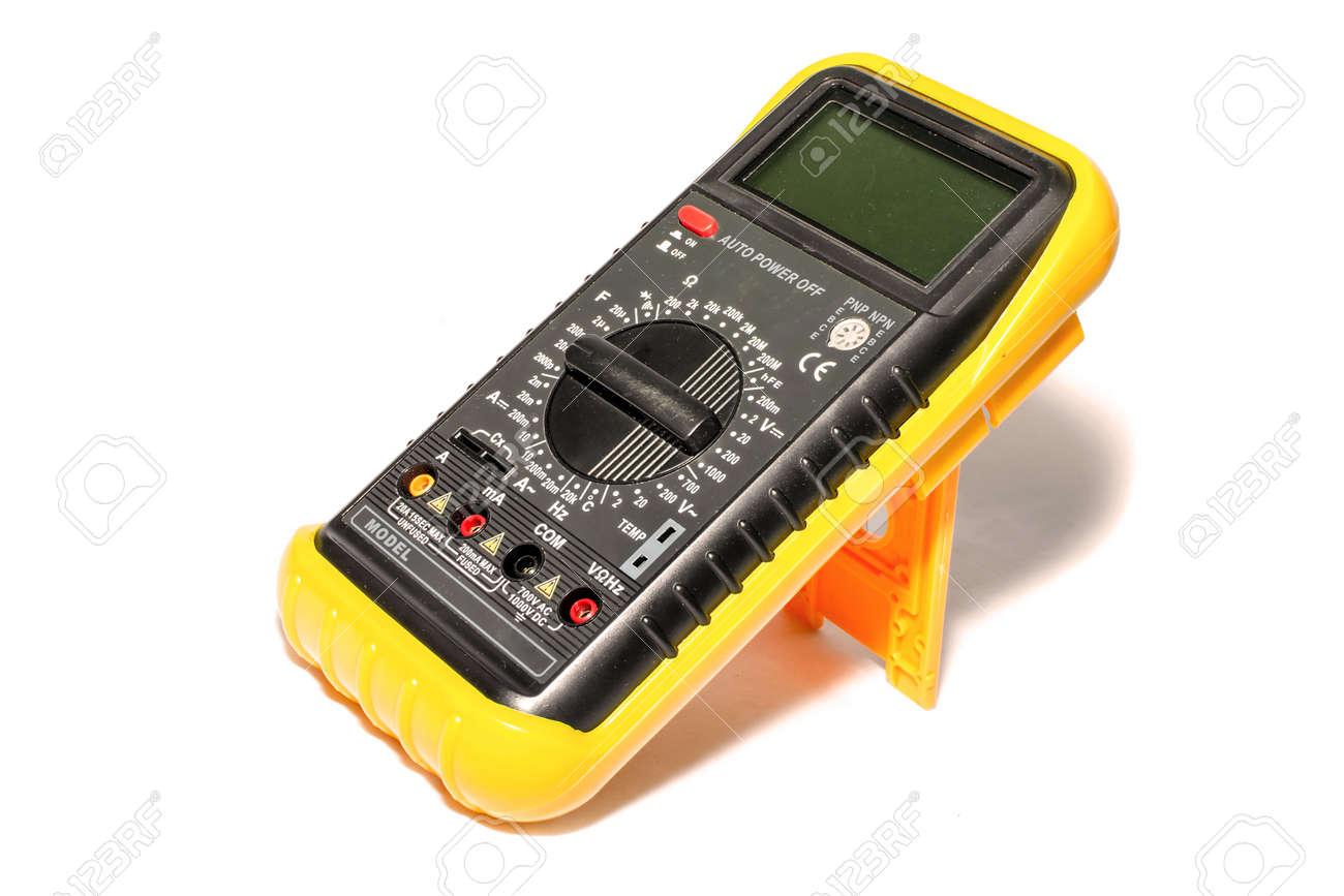 electronic galvanometer isolate on white background stock photoelectronic galvanometer isolate on white background stock photo 31595368