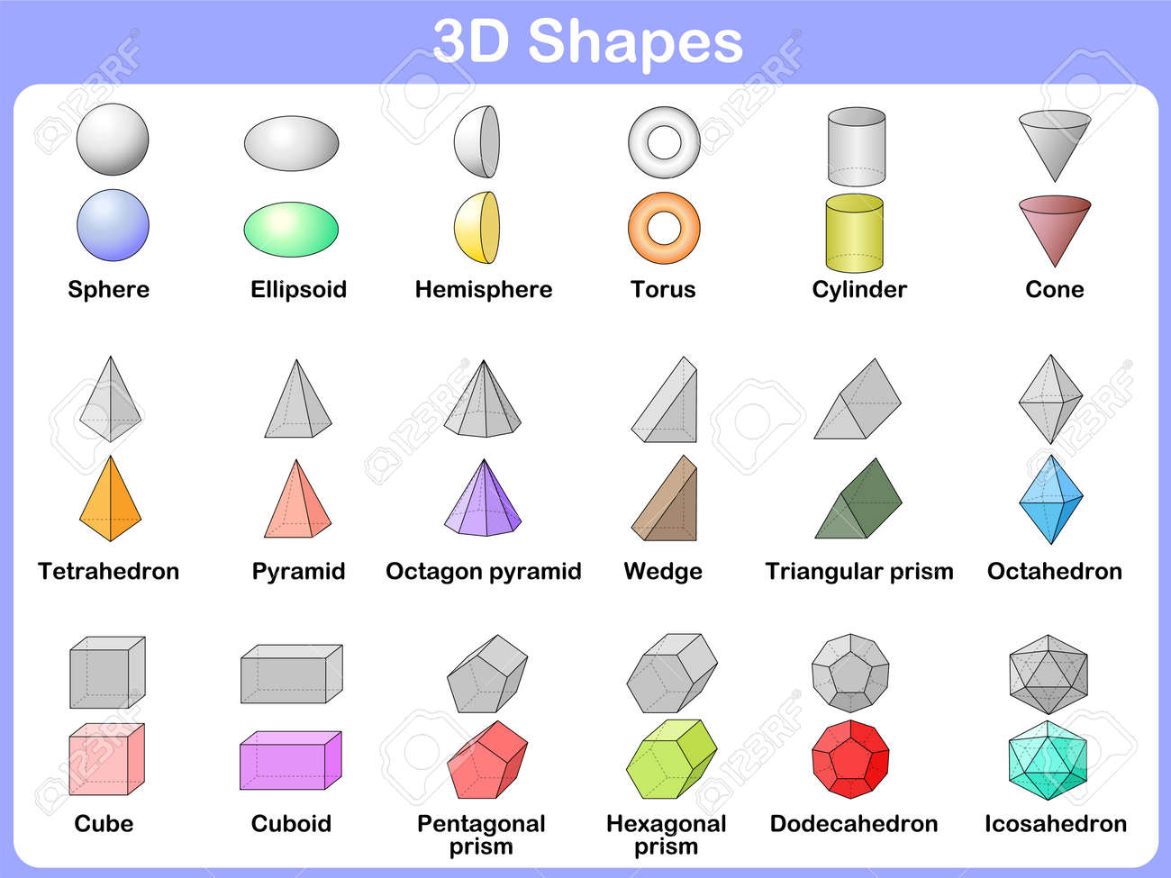 Favorit Forme Geometrique Banque D'Images, Vecteurs Et Illustrations  DF56