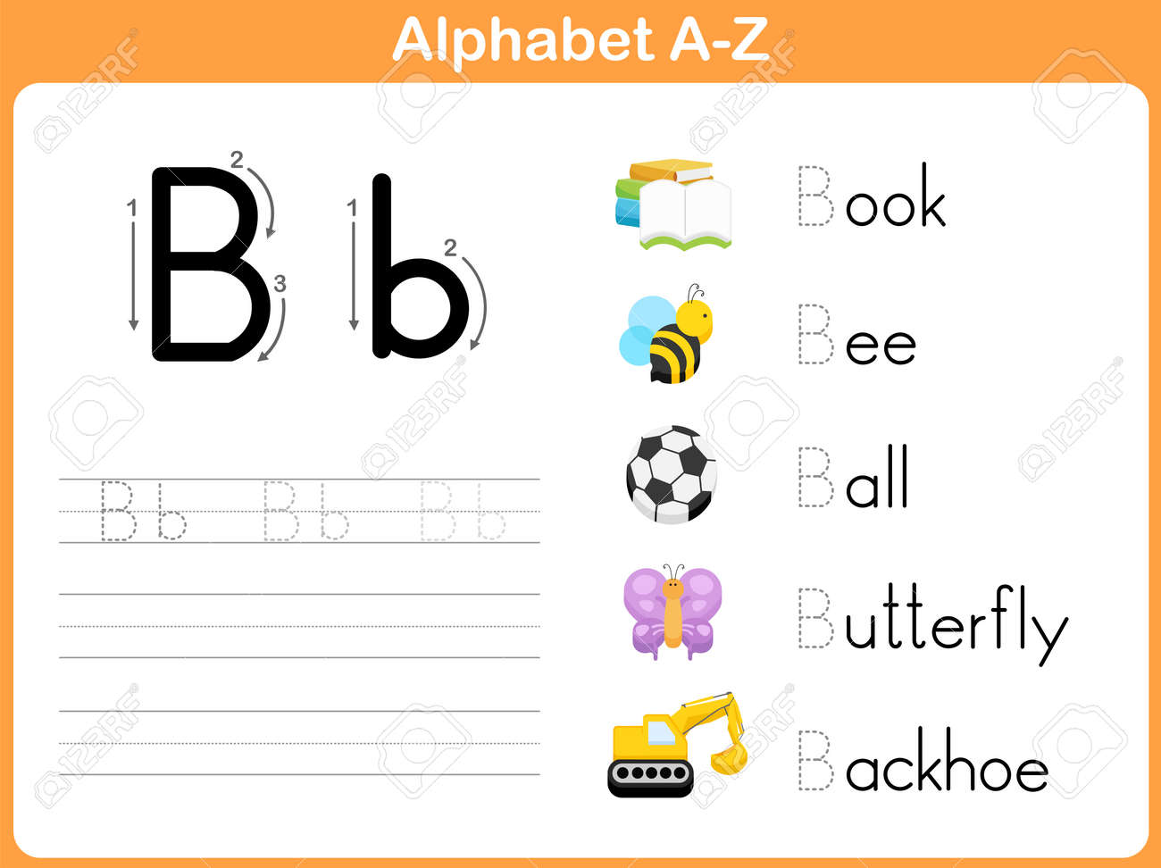 Worksheets Alphabet Tracing Worksheet pictures alphabet writing worksheet toribeedesign photos toribeedesign