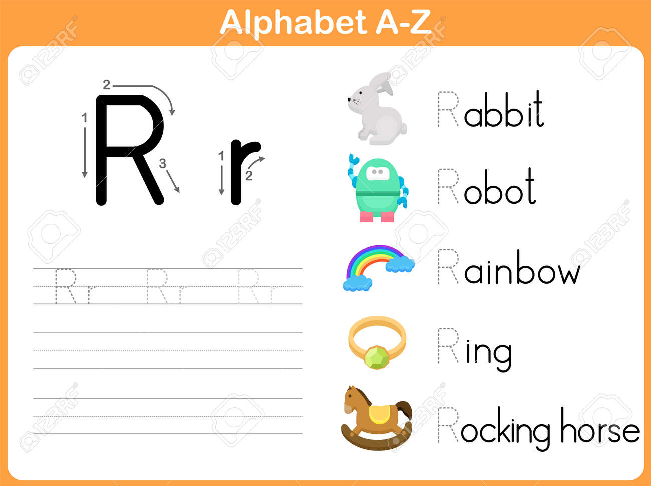 worksheet Child Support Worksheet Az alphabet tracing worksheets a z humorholics worksheet writing royalty free cliparts