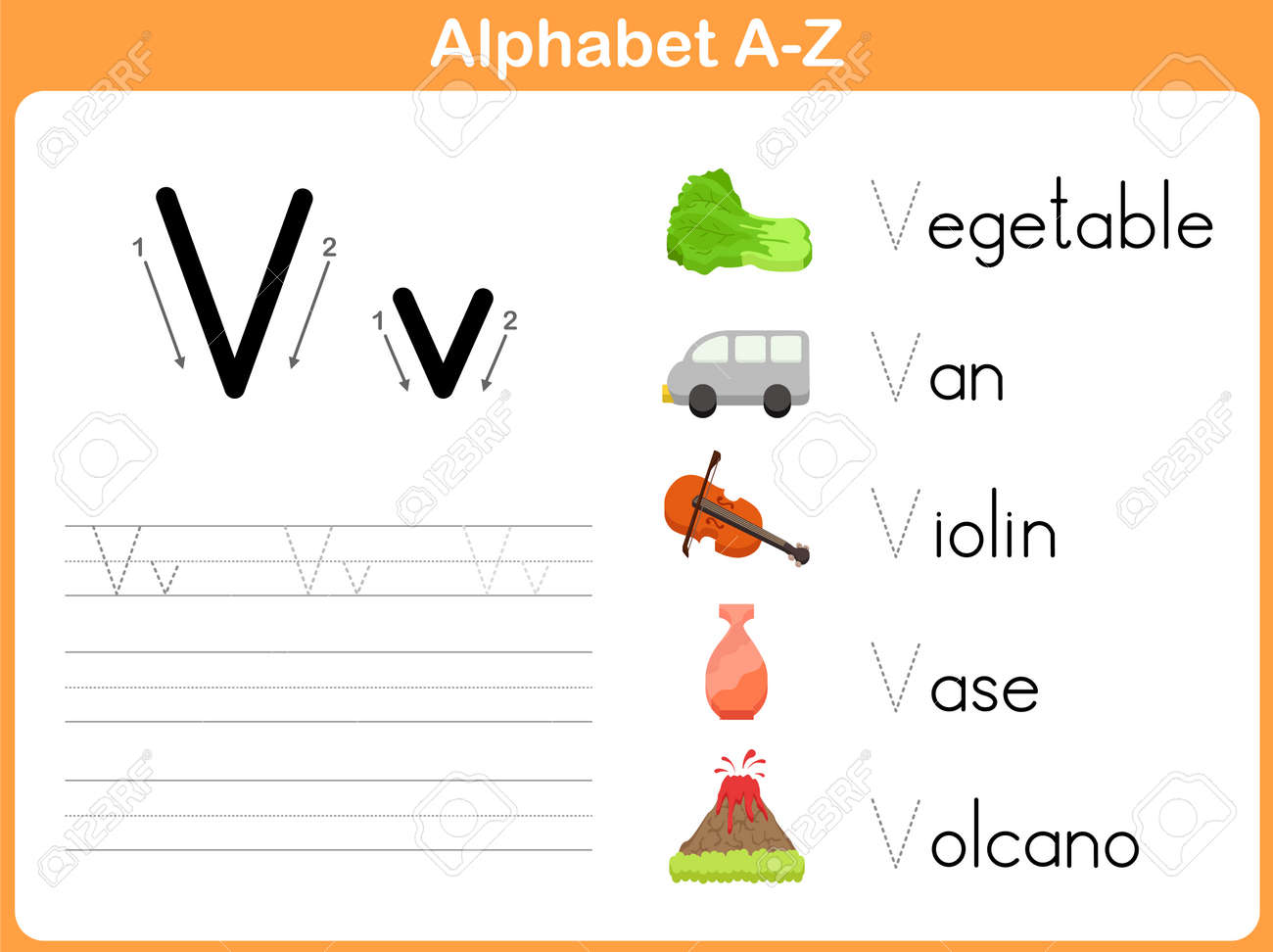 worksheet Alphabet Tracing Worksheets A-z alphabet tracing worksheet writing a z royalty free cliparts stock vector 31984932