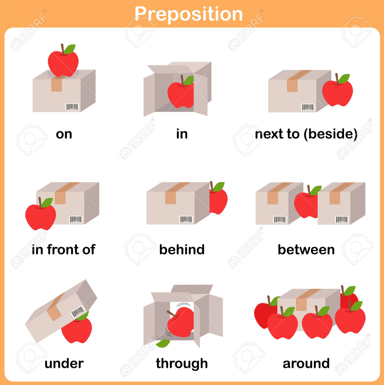 Preposition Of Motion For Preschool - Worksheet For Education ...