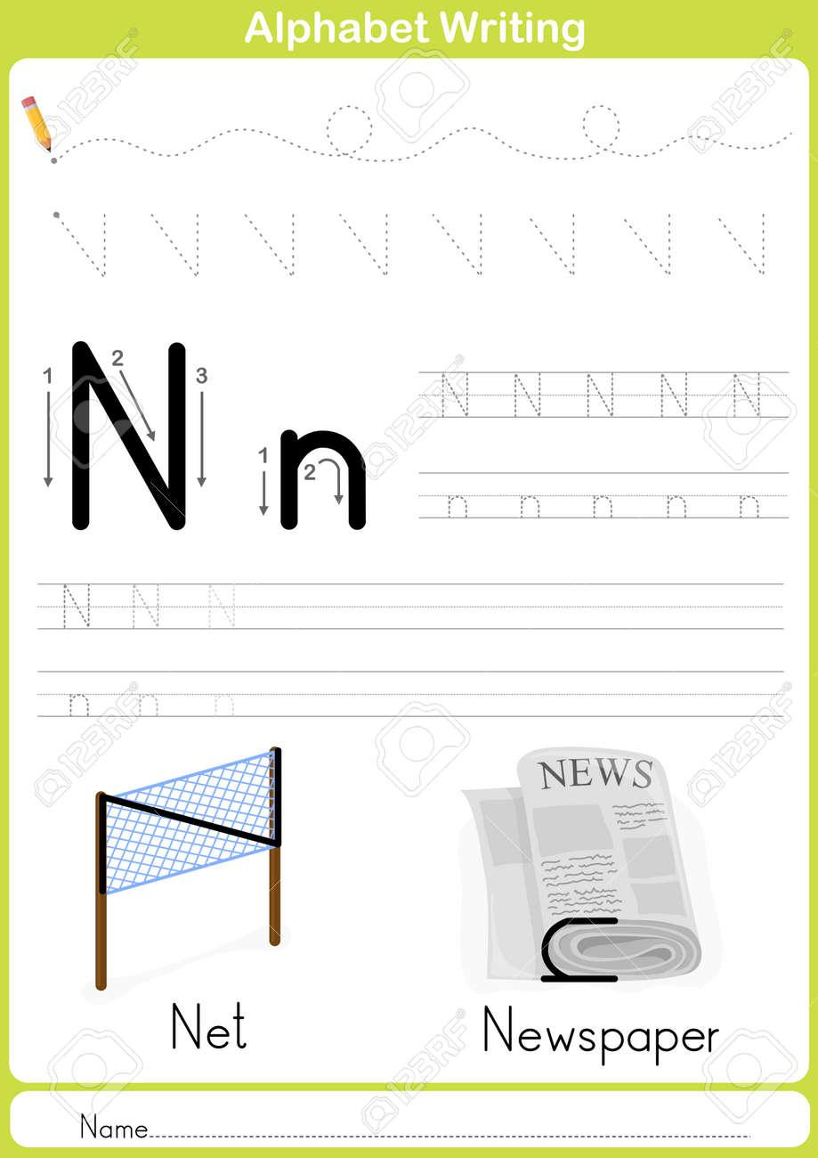 Ausgezeichnet Kindergarten Alphabet Arbeitsblatt Tracing Galerie ...