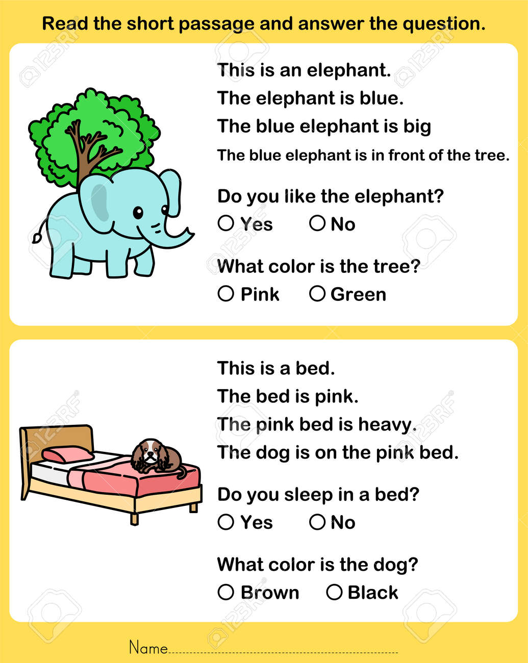 - Read The Short Passage And Answer The Question. - Worksheet For