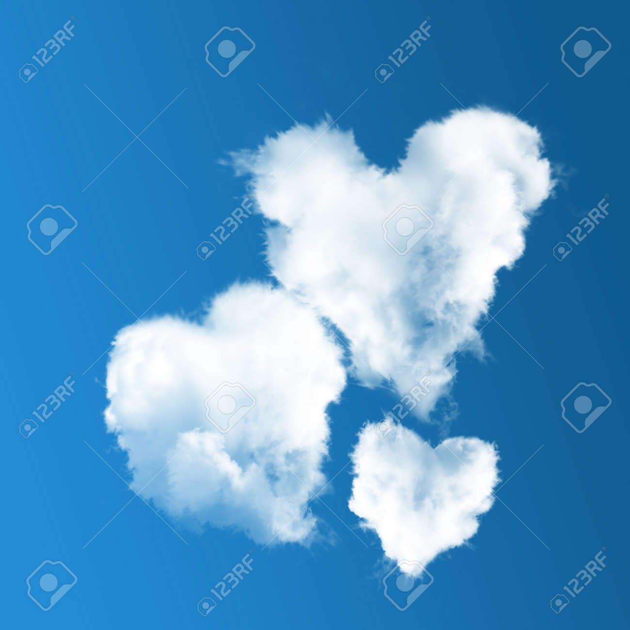 Free photo White Dense Flat Clouds Background Anvil Shaped - Max Pixel